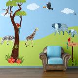 Decalcomanie animali della parete del vinile degli autoadesivi su ordinazione della parete per gli autoadesivi della stanza di bambini della camera da letto dei capretti