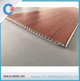 Panneau de mur stratifié en bois du plat 250*8mm*5.95m de panneau de plafond de PVC