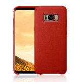 Accesorios móviles de Alcantara para Samsung S8 S8 más la cubierta del caso