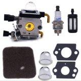 Carburador para o carburador de Stihl Fs38 Fs45 Fs46 Fs55 Fs76 Fs80 Fs85 com filtro ar-carburante