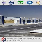 Entrepôt de structure métallique de coût bas de Chine