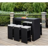 Таблица и стулы мебели нового типа напольные с таблицей штанги