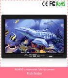 """o luxo subaquático da câmara de vídeo do inventor de 7 da """" peixes cor TFT ajustou-se com cabo de 20m/caso - preto"""