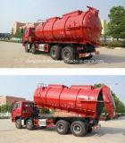 Sinotruk Hochleistungs-HOWO 8X4 20000L Abwasser-Klärschlamm-Transport-LKW