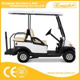 Automobile facente un giro turistico di mini golf elettrico delle 4 persone