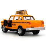 زنك سبيكة و [أبس] تاكسي مصغّرة موسيقيّة لعبة سيارة