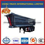 U Vorm 3 As Cimc Aanhangwagen van de Vrachtwagen van de Kipper van de Aanhangwagen van de Stortplaats de Semi