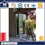 China-neuer Entwurfs-Handelssystems-Aluminiumrahmen-Bi-Faltende Tür