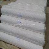 Tela plana tejida PP blanca de la alta calidad en rodillo