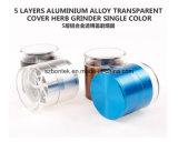 Neueste 5 Schichten multi Farben-Metallzerkleinerungsmaschine-Tabak-Gewürz-Kraut-Schleifer-