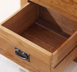 صلبة خشبيّة [وأك ووود] غرفة نوم أثاث لازم خزانة 5 قفص صدر ([م-إكس2001])