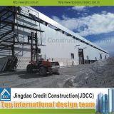 Fabricación profesional de estructura de acero del almacén prefabricado