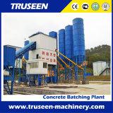 Equipo de procesamiento por lotes por lotes concreto de la construcción de edificios de la planta de Well-Knowed Hzs180