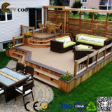De haute qualité et belle conception WPC Outdoor Decking / Composite Outdoor Floor à vendre