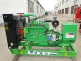 安い木片の生物量は生物量のガス化装置の発電所50kw Syngasの発電機セットに値を付ける