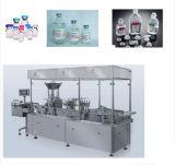 Автоматическая стеклянной завалка бутылки и бутылки пластмассы и резиновый машина Pluging