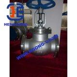 Robinet d'arrêt sphérique industriel de bride d'acier inoxydable de norme ANSI (J41H)