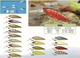 Attrait de vacillation de pêche de premier de pente de qualité de Fishermans vairon d'associé