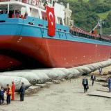 La ISO aprobó el saco hinchable de lanzamiento certificado ABS de la nave marina del caucho natural de CCS