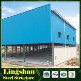 Edificio prefabricado/taller/almacén de la estructura de acero