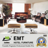 Sofa moderne de luxe d'hôtel réglé (EMT-SF05)