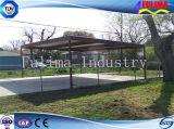 De lichte Structuur van het Staal Eenvoudige en Gemakkelijke Carport voor Verkoop (flm-c-002)