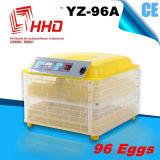 96個の卵のセリウムのマーク付きの自動小型鶏の卵の定温器(YZ-96A)