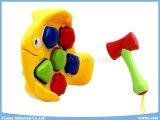 Puzzlespiel-Block-Spielwaren-Plastik spielt Fisch-pädagogische Spielwaren