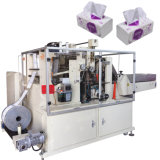 Machine de tissu facial avec la machine à emballer de serviette