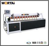 Cnc-linearer Rand-Fräsmaschine CNC, der Maschine schnitzt