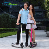 Carbon Fiber Design Light Two Wheel 350W Scooter Elétrico Dobrável