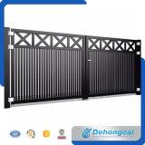 Cancello residenziale pratico economico del ferro saldato di stile di Europen bello (dhgate-3)