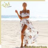Девушка цветка Dressses способа лета женщин платья пляжа длинняя