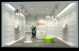 Dame-Kleid-Einzelhandelsgeschäft-Dekoration