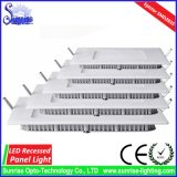 AC85-265V vertieftes Panel des Quadrat-9W LED/Deckenleuchte