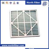 Filtro preliminar do painel da eficiência para a purificação do ar