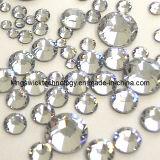 100% 복장, 못 예술, 단화 및 부대를 위한 진짜 Swa Rovski 수정같은 Flatback 최신 고침 모조 다이아몬드