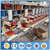 가열된 압박 기계를 인쇄하는 압축 공기를 넣은 표 의복