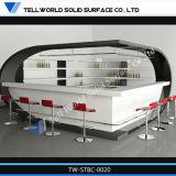 Compteur artificiel transparent de barre de marbre de DEL (TW-141)