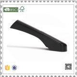Kundenspezifische schwarze Plastikplastikfußleisten-Aufhängungen der kleidung-Aufhängungs-H&M