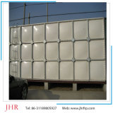 Réservoir de stockage Réservoirs d'eau en cubes SMC en coupe sectionnelle