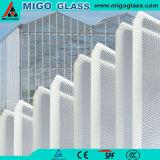 ガラス温室を構築するのに使用される4mmの緩和されたガラス