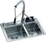 Hoher glatter kundenspezifischer Thermo Folien-Küche-Schrank