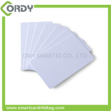IDENTIFICATION RF de PVC programmable de blanc 13.56MHz Smart Card pour le management de service