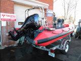 China Aqualand Rib patrulla / rescate / buceo / barco inflable rígido / barco de deportes (RIB580T)