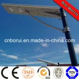 15W - 160W rue Lumière solaire avec panneau solaire, contrôleur et batterie