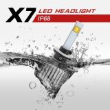 Bulbos do diodo emissor de luz do CREE do feixe principal 9004 para o assento Ibiza Leon