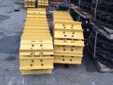 Le train d'atterrissage en bronze de bouteur de qualité de fournisseur de chat partie la chaussure de piste pour le tracteur à chenilles