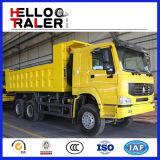 Sinotruck HOWO 25t 6X6のダンプトラックすべての車輪のダンプトラック