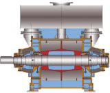 bomba de vácuo de anel 2be3 líquida/bomba de vácuo